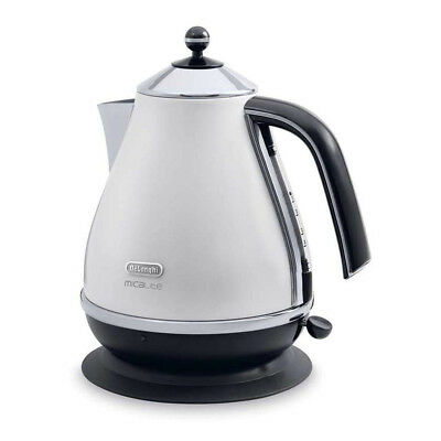 DeLonghi KBOM3001W Micalite Jug Kettle with 3000W Power and 1.7L Capacity in