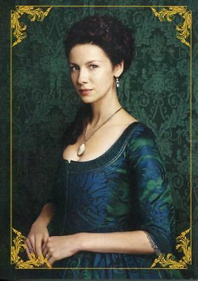 Outlander Season 2 Character Bios Chase Card C1 Claire Fraser