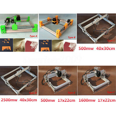 Desktop Laser Cutting Cutter Engraving Engraver Machine DIY Logo Picture Printer