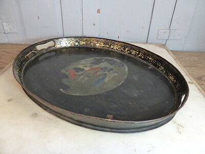 Antique Georgian Toleware serving tray