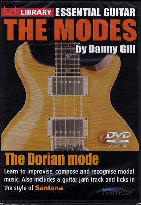 The Dorian Mode Lick Library Guitar DVD Santana Style