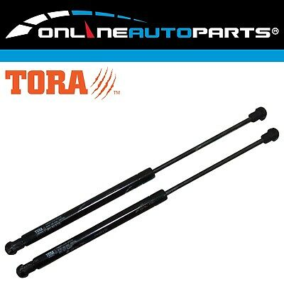 2 x Gas Stay Boot Struts fit Ford AU Falcon + Fairmont Sedan With Wing Spoiler