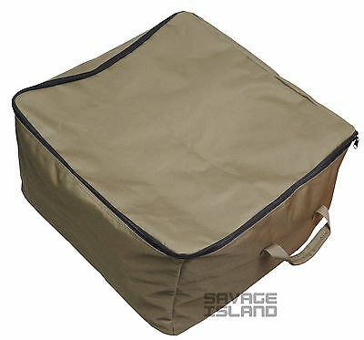 Tackle Carp Fishing Barrow Bag Carryall Large Luggage Holdall 52cm x 52cm x 30cm