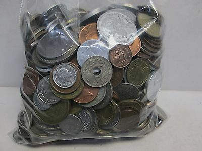 Mixed 5Lb Bag Of Non Silver Foreign Coins