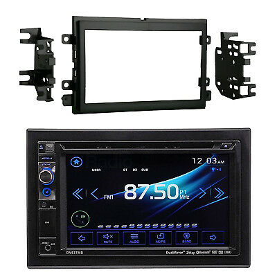 "2Din 6.2"" Touch Screen DVD Bluetooth USB Receiver, Install Kit (2004-up Ford)"