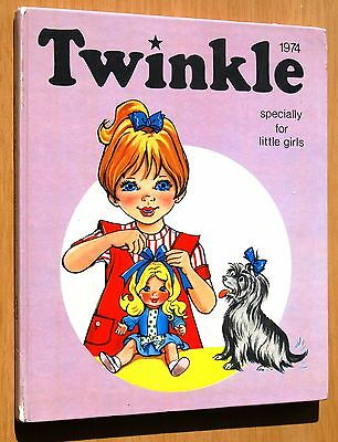 Twinkle Specially For Little Girls 1974 Annual