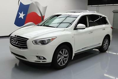 2015 Infiniti QX60 Base Sport Utility 4-Door 2015 INFINITI QX60 PREM PLUS SUNROOF NAV DVD 7-PASS 31K #520308 Texas Direct