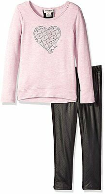 Juicy Couture Girls Long Sleeve Top 2pc Legging Set  Size 4 5 6 6X $69.50