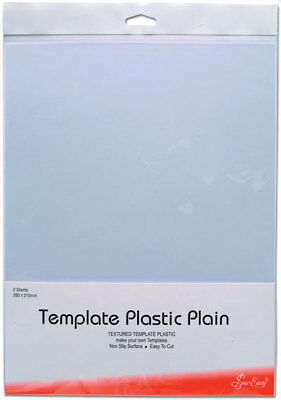 NEW Sew Easy ER398 | Plain Plastic Template | 280 x 215mm | 2 sheets | FREE POST