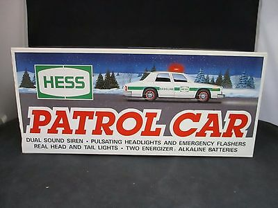 Hess Toy Trucks and Vehicles 1993 Patrol Car New in Box