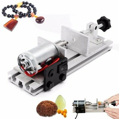 Pearl Drilling Holing Machine Driller Beads Maker Full Set of Jewelry Tools 50V
