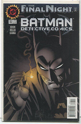 Detective Comics-Batman  #703  NM  The Final Night DC Comics  CBX1P