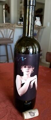 1996 Marilyn Monroe Collectible Empty Wine Bottle With Cork