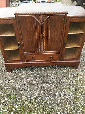 Art Deco Vintage Display Cabinet Sideboard Decorative 2/8/N
