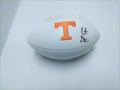 JARRETT GUARANTANO Tennessee Vols SIGNED Logo Football