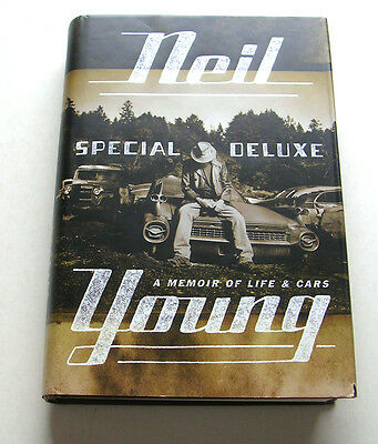 Neil Young 'special Deluxe' A Memoir Of Life And Cars, 2014 1St Edition Hardback