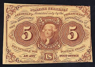 US 5c Fractional Currency FR 1230 CU