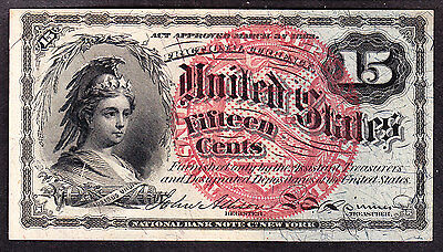 US 15c Fractional Currency FR 1269 Ch CU