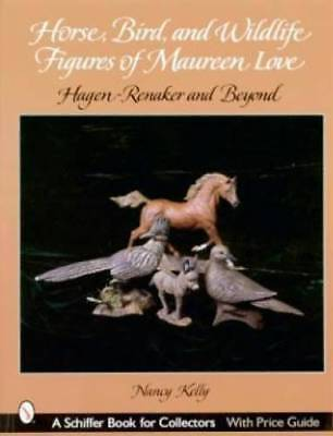 Horse Bird Animal Figure M Love book Hagen Renaker