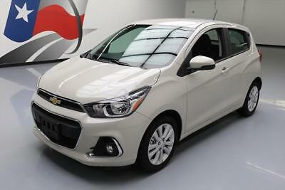 2017 Chevrolet Spark LT Hatchback 4-Door 2017 CHEVY SPARK 1LT HATCHBACK AUTOMATIC REAR CAM 2K MI #735917 Texas Direct
