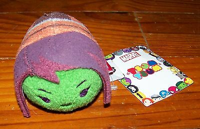 "New! DISNEY 3.5"" Marvel Guardians of the Galaxy Gamora Plush Tsum Tsum"