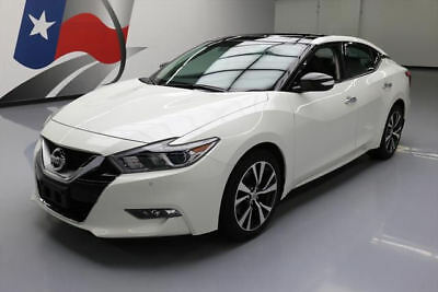 2016 Nissan Maxima  2016 NISSAN MAXIMA 3.5 SL PANO SUNROOF NAV REAR CAM 15K #399404 Texas Direct