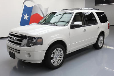 2014 Ford Expedition Limited Sport Utility 4-Door 2014 FORD EXPEDITION LTD SUNROOF NAV REAR CAM 20'S 40K #F03412 Texas Direct Auto