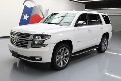 "2016 Chevrolet Tahoe LTZ Sport Utility 4-Door 2016 CHEVY TAHOE LTZ 4X4 SUNROOF NAV DVD 22"" WHEELS 10K #218336 Texas Direct"
