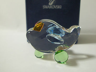 Swarovski Silver Crystal Paul The Plane New Mib Rare