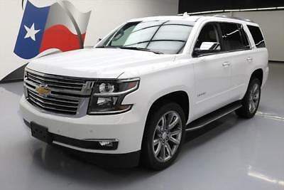 2016 Chevrolet Tahoe LTZ Sport Utility 4-Door 2016 CHEVY TAHOE LTZ 4X4 7-PASS SUNROOF NAV DVD 22'S 9K #211503 Texas Direct