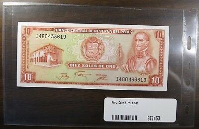 Peru Coin and Note Set