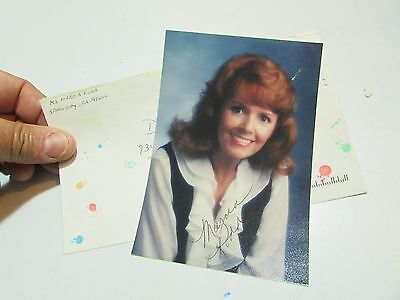 Authentic personally Signed Autograph actress Marcia Rodd on photo