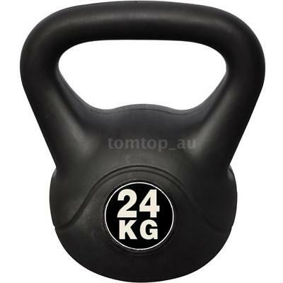 Kettle Bell 24KG Training Weight FitnHome Gym Exercise Kettlebell Dumbbell O8D6