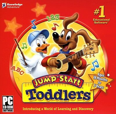 JumpStart Toddlers educational cd-rom for PC