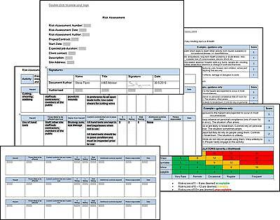 Risk Assessment + Method Statement For General Window Cleaning Work
