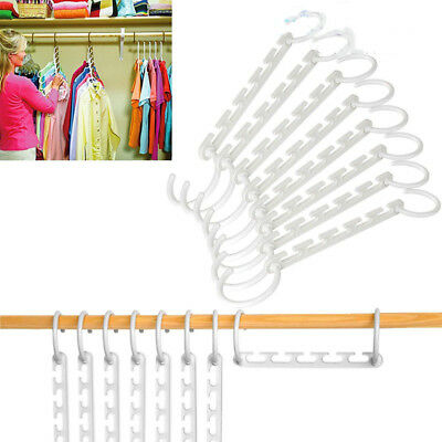 Multi Function? Clothes Hangers Space Saving Closet Organizer Magic Rack Wsw
