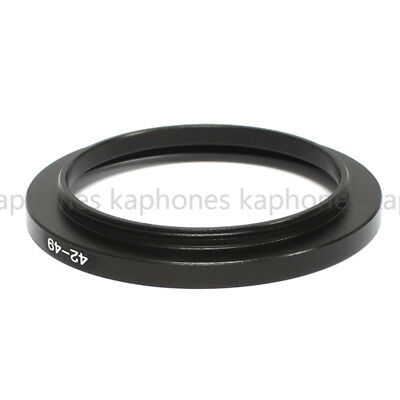 42mm-49mm Step Up Ring Filter Adapter