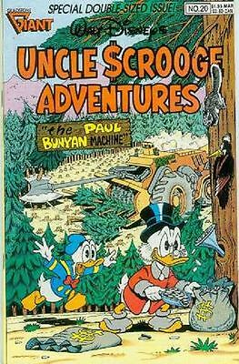 Uncle Scrooge Adventures # 20 (Barks, Rosa) (USA,1990)