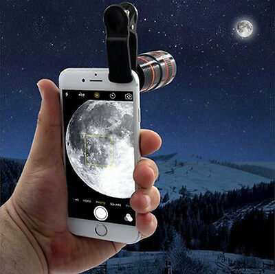 New Transform Your Phone Into A Professional Quality Camera!! HD360 Zoom Hot 8X