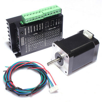 Stepper Motor Bipolar 40Ncm/1.5A New 42BYGH40 Nema17 with 4.0A Motor Driver