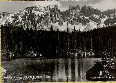 139498 lago di carezza col latemar