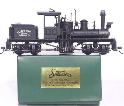 BACHMANN SPECTRUM 25661 On30 - MIDWEST QUARRY TWO TRUCK SHAY LOCOMOTIVE DCC RDY.