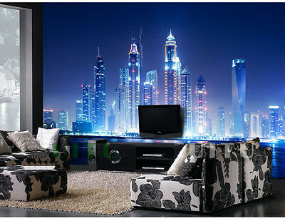 H-F Modern Style Landscape Pattern Background Bedroom Living Room WallPaper