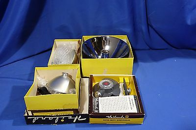 LOT of Vintage Heiland Flashes & Flash Accessories #L2094BP