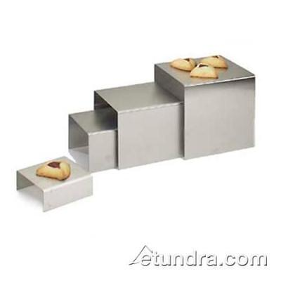 Cal-Mil - 239-6 - 7 in x 7 in x 6 in Stainless Steel Riser