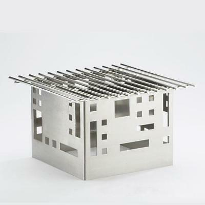 Cal-Mil - 1612-22-55 - 12 in x 15 in x 11 in Stainless Steel Grill Frame