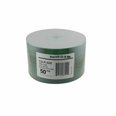 Maxell CDR80 700MB Printable Blank Discs (pack of 50)