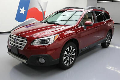 2017 Subaru Outback  2017 SUBARU OUTBACK LTD AWD SUNROOF NAV HTD LEATHER 10K #208970 Texas Direct