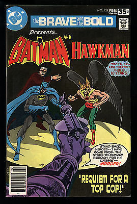 Brave And The Bold (1955) #139 1st Print Batman Hawkman Mark Jewelers Aparo VF+