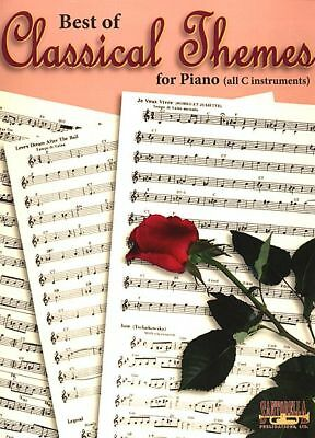 Best Of Classical Themes For Piano Keyboard Song Book Rrp $40! 330 Themes! New!
